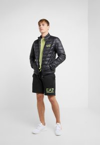 EA7 Emporio Armani - Down jacket - black / neon / yellow - 1