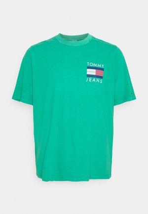 PALM TREE GRAPHIC TEE - T-shirt print - grassy green
