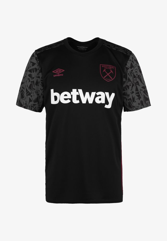 WEST HAM UNITED - Club wear - black / carbon / new claret