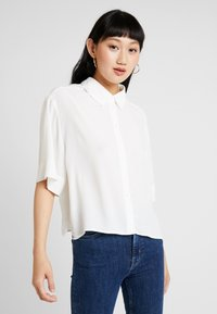 Weekday - HALL - Button-down blouse - white - 0