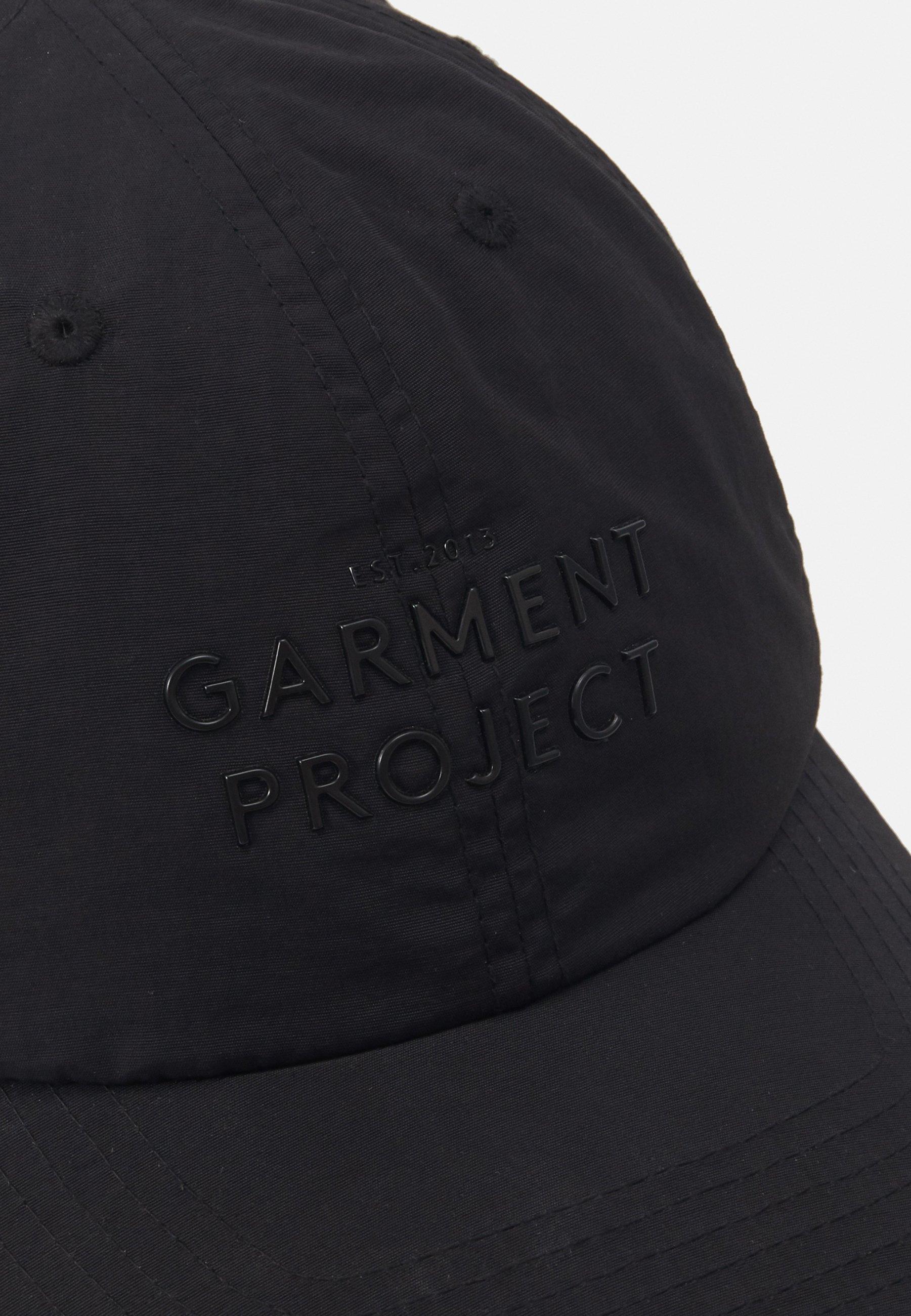 GARMENT PROJECT LOGO CAP - Cap - black/svart kp8jHaYYVdTBOVV