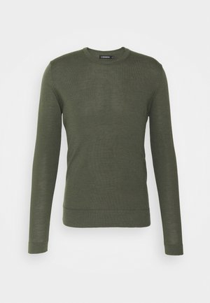 CREW NECK - Trui - lake green melange