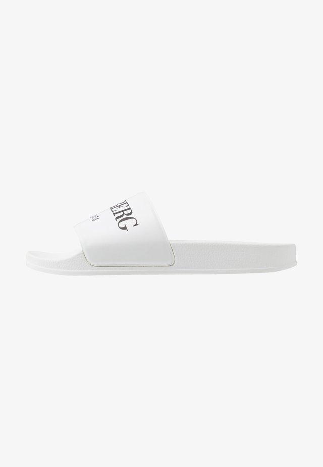 LIU - Mules - white