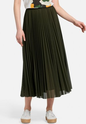 A-line skirt - tannengrün