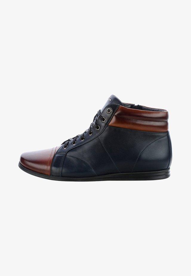 FERLA - Chaussures à lacets - dark blue