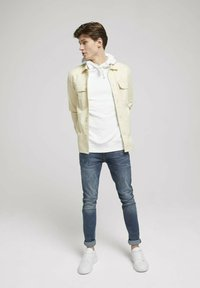 TOM TAILOR DENIM - Hoodie - soft clear white - 1