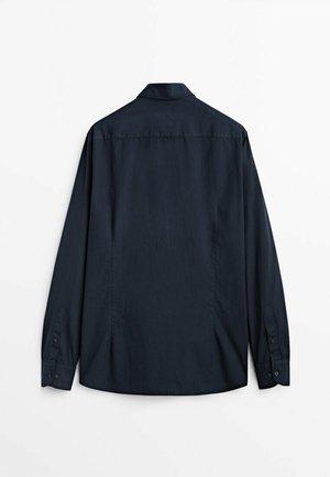 SLIM- - Formal shirt - dark blue