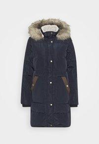 COAT HOOD - Kabát zprachového peří - dark navy