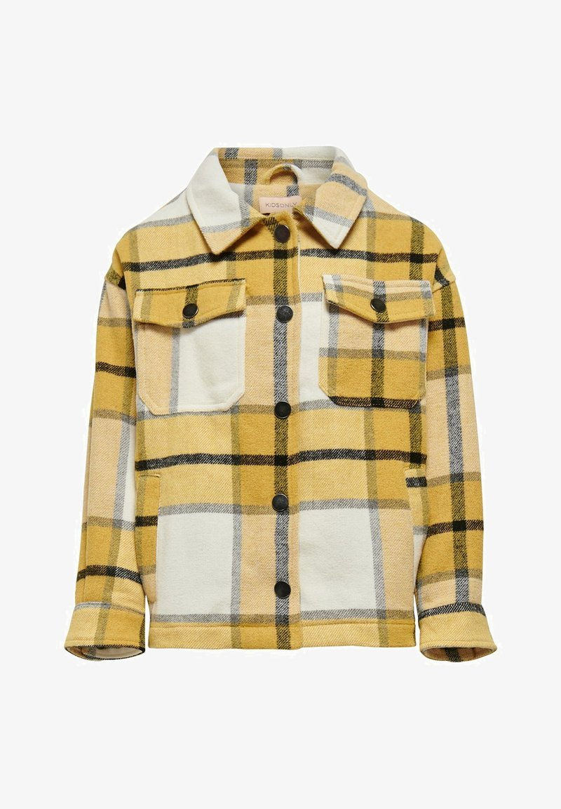 Kids ONLY - Button-down blouse - chai tea