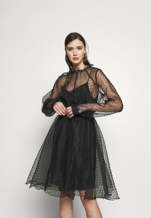 VIRA DRESS - Cocktailkjole - anthracite black