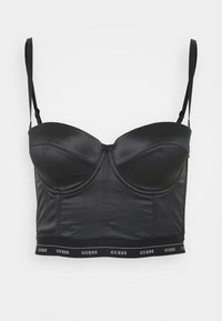 Guess - BUSTIER - Multiway / Strapless bra - jet black - 5