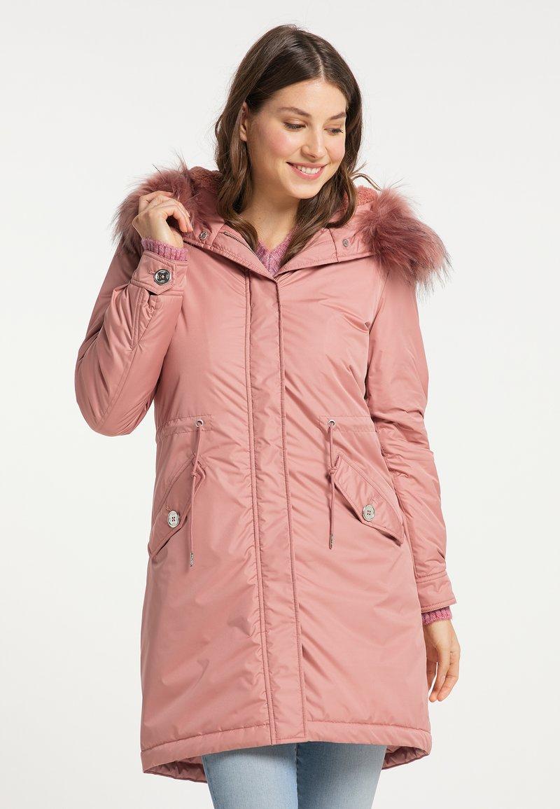 myMo - Winter coat - altrosa