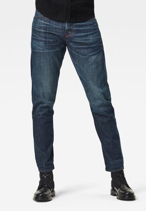 SCUTAR 3D SLIM TAPERED  C - Slim fit jeans - antic regal marine