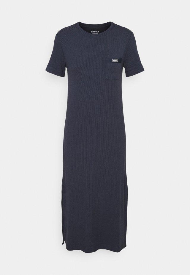 MANALI DRESS - Blousejurk - metallic blue