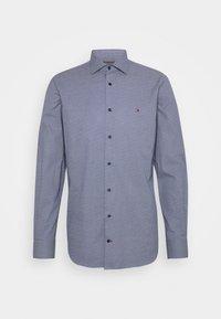 Tommy Hilfiger Tailored - DOT PRINT SHIRT - Formal shirt - navy/white - 0