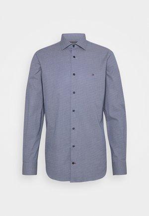 DOT PRINT SHIRT - Formal shirt - navy/white