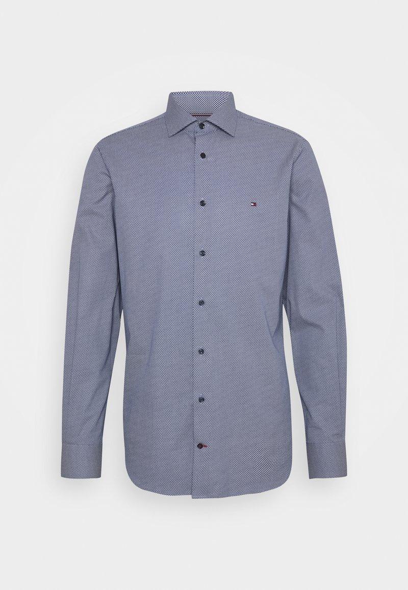 Tommy Hilfiger Tailored - DOT PRINT SHIRT - Formal shirt - navy/white