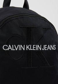 Calvin Klein Jeans - MONOGRAM - Ryggsekk - black - 7