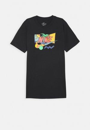 TEE FUTURA PALM UNISEX - Camiseta estampada - black