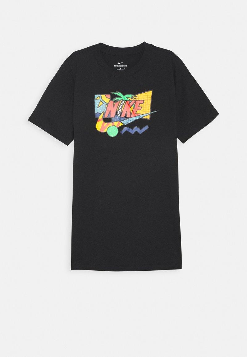 Nike Sportswear - TEE FUTURA PALM UNISEX - T-shirt print - black