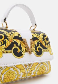 Versace - BAG - Across body bag - black/white/gold/gold - 3