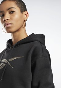 Reebok - MODERN SAFARI HOODIE - Sweater - black - 3