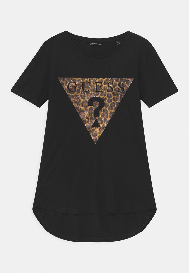 Guess - JUNIOR  - Print T-shirt - black