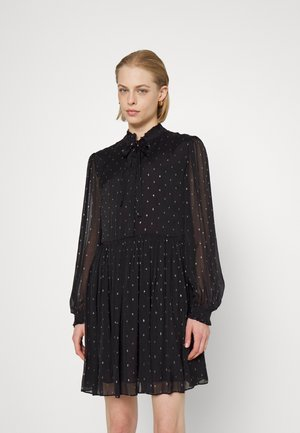 ABITO FIL COUPE - Cocktail dress / Party dress - nero