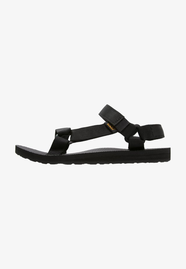 ORIGINAL UNIVERSAL WOMENS - Walking sandals - black