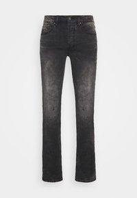 Tigha - MORTY STONE WASH - Slim fit jeans - vintage black - 3