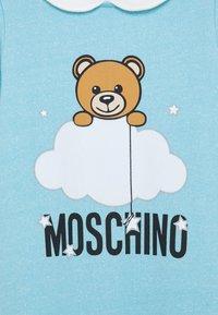 MOSCHINO - BABYGROW HAT GIFT SET UNISEX - Čepice - baby sky blue - 2