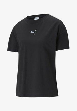 EVIDE GRAPHIC - Print T-shirt - puma black