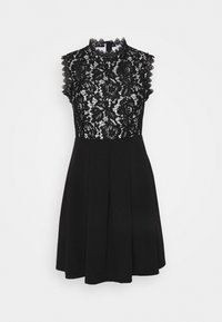 WAL G. - SKATER DRESS - Day dress - black/white - 0
