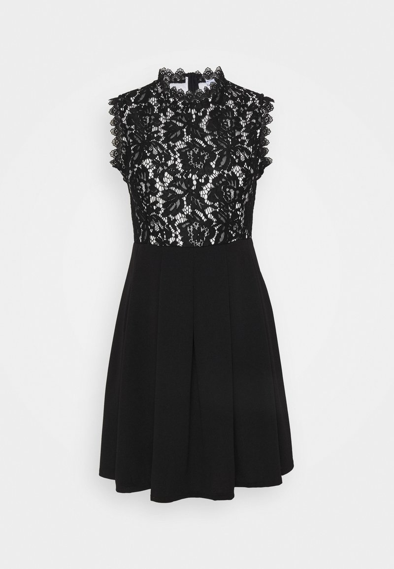 WAL G. - SKATER DRESS - Day dress - black/white