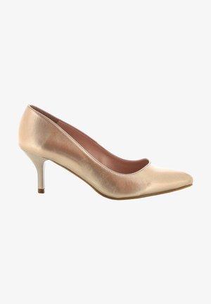 Klassieke pumps - gold