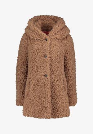 MIT KAPUZE - Winter coat - dune