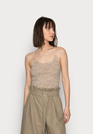 BARE STRAPPY BRAMI - Top - camel