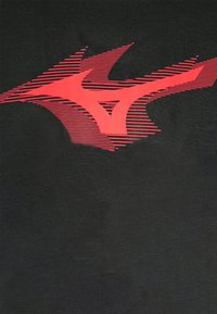 Mizuno - CORE TEE - T-shirt print - black - 6