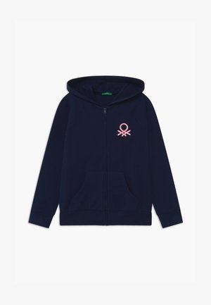 BASIC GIRL - Zip-up hoodie - dark blue