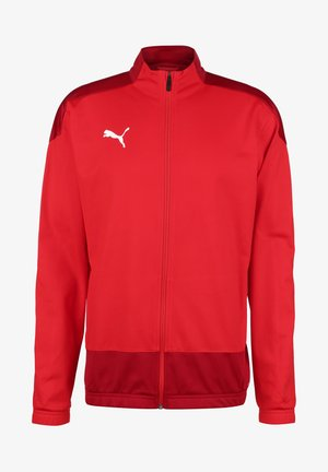 TEAMGOAL  - Chaqueta de entrenamiento - red/chili pepper