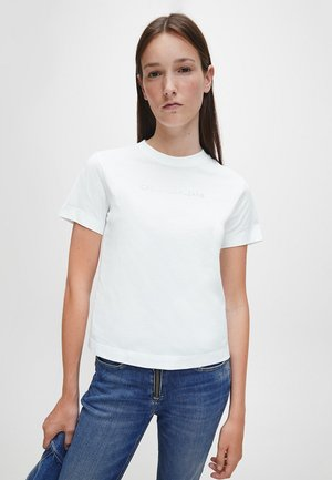 T-shirt imprimé - bright white