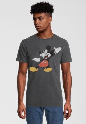 DISNEY MICKEY MOUSE POSING - T-shirt print - dunkelgrau