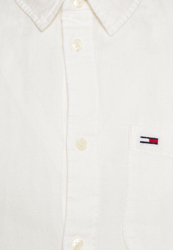 Tommy Jeans BLEND - Koszula - white/biały Odzież Męska LSPL