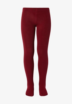 Leggings - Stockings - rosso scuro