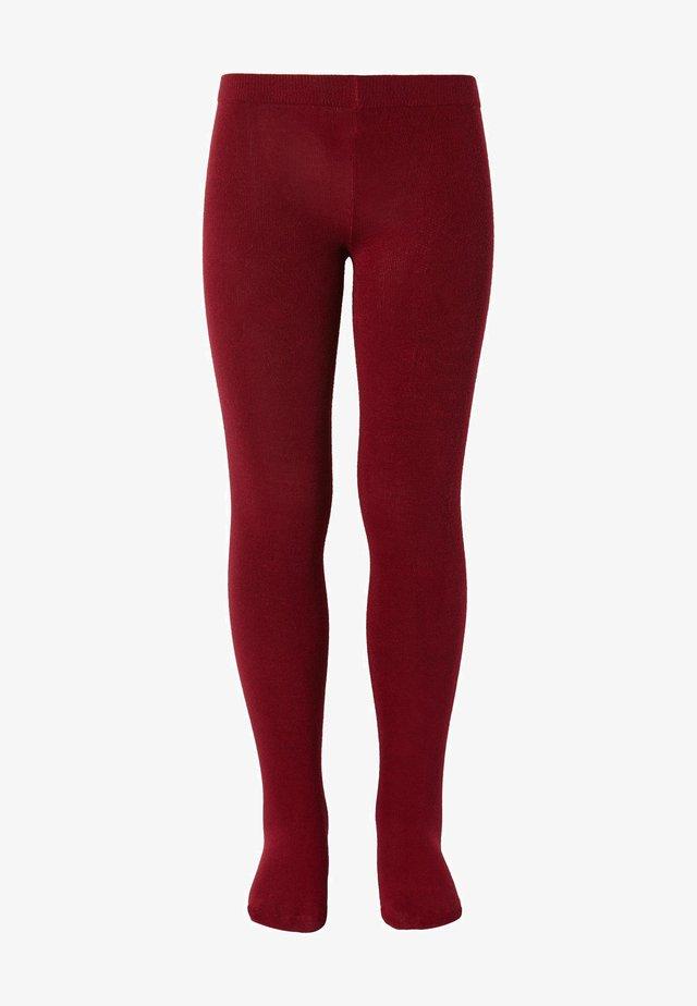 Leggings - Stockings - rosso scuro