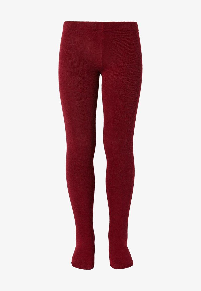 Calzedonia - Leggings - Stockings - rosso scuro