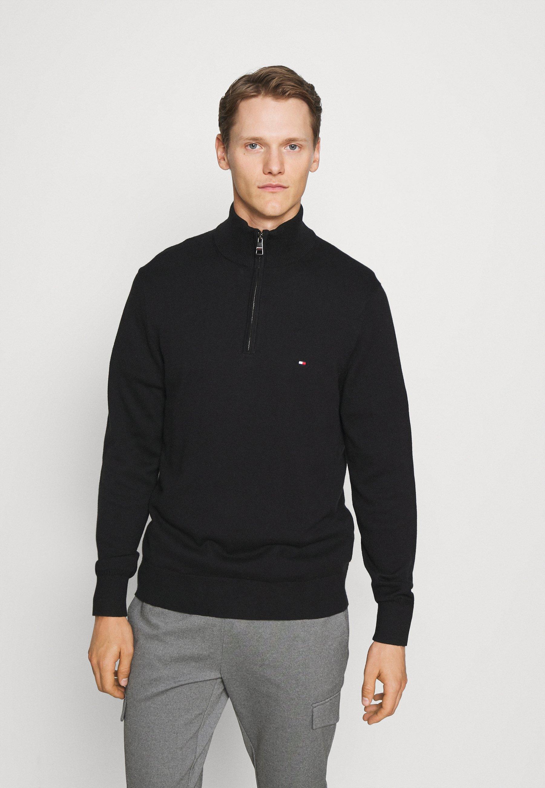 Homme ZIP MOCK - Pullover