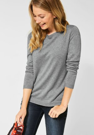 DÜNNER BASIC - Jumper - grau