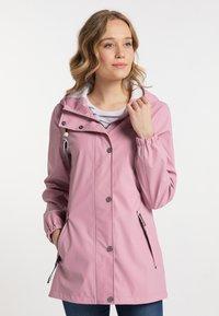 Schmuddelwedda - Waterproof jacket - candy pink - 0