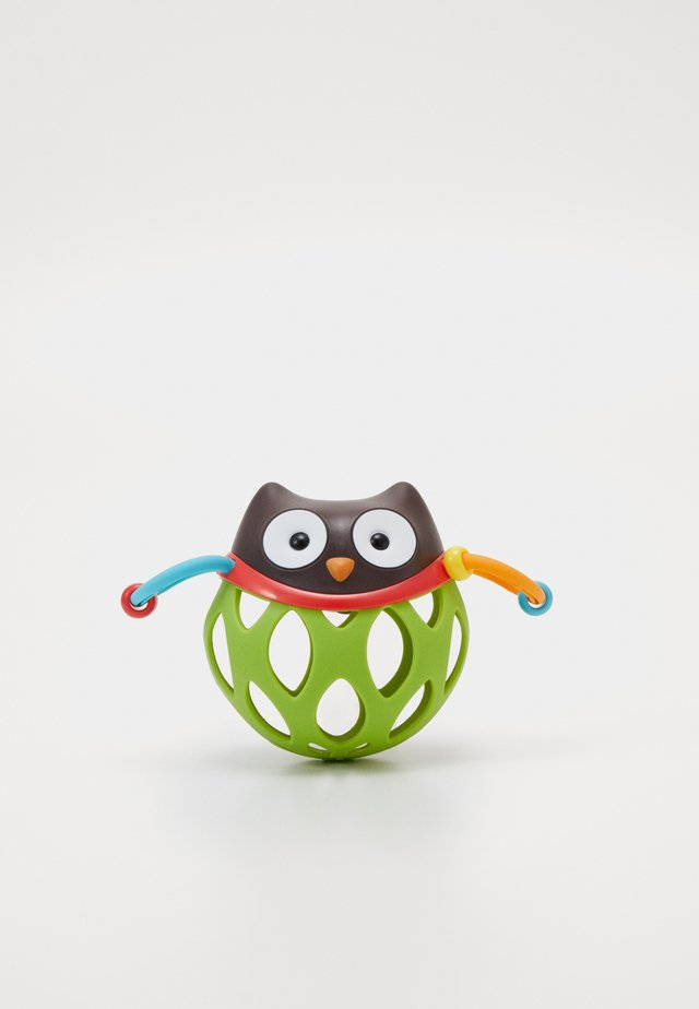 ROLL AROUND OWL - Toy - brown/green